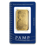 PAMP Suisse (Gold Bars & Rounds)